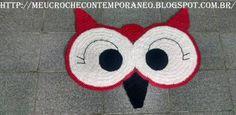 Resultado de imagem para graficos de olhos de coruja em croche