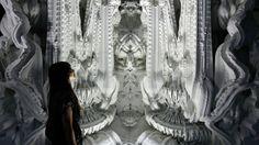 The grotto's interior (Photo: Hansmeyer / Dillenburger)