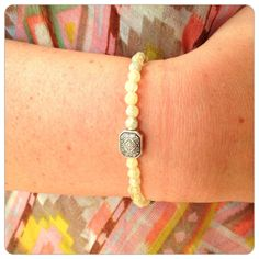 Energy Intention Bracelet - love this one, even though it's yellow.