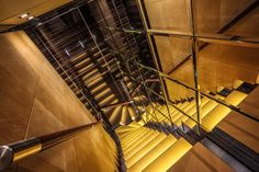 Stairwell Icon Superyacht Maidelle copyright by Peter Baas HDR Photography