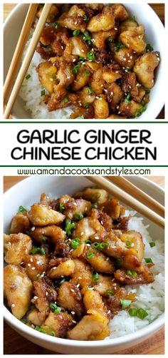 Garlic Ginger Chinese Chicken