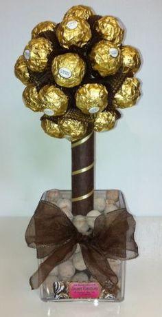 Small Ferrero Rocher Sweet Tree