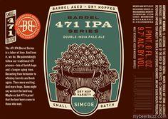 mybeerbuzz.com - Bringing Good Beers & Good People Together...: Breckenridge Brewery Barrel Series - 471 Double IP...