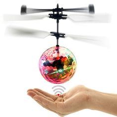 Special Price of mini drone RC Helicopter Aircraft Flying Ball flying toys Ball Shinning LED Lighting Quadcopter Dron fly Helicopter Kids toys