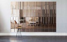 Pleat Mirror Panel by AfroditiKrassa | http://www.yellowtrace.com.au/london-design-festival-2014-new-product/