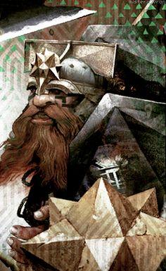 Dragon Age: Inquisition tarot card - Dwarf