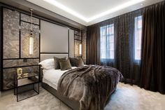 Knightsbridge bedroom | by Caballero Interior Design