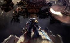 WALLPAPERS HD: Warhammer 40000 Space Marine Ultramarines