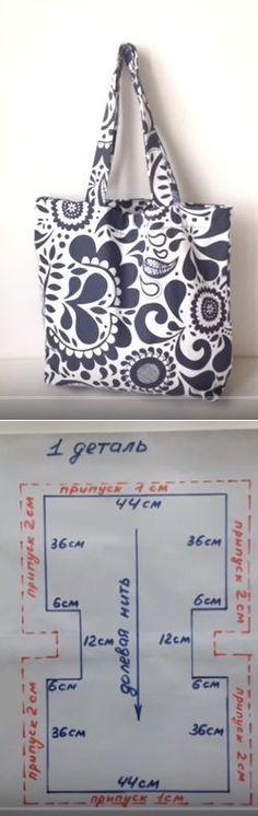 Cómo coser una bolsa de playa
