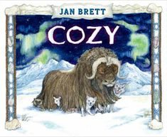 The coat of a huge wooly musk ox named Cozy is the winter home for a growing number of Alaskan animals who mostly get along.