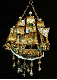 silver and enamel  from the Greek island of Sifnos
