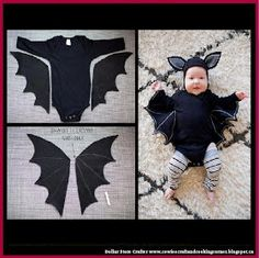 43 Cutest Ever Kids Halloween Costumes Every Mom Would Want Baby Bat Costume In Black For You Little Diy Bat Costume, Bat Halloween Costume, Family Halloween Costumes, First Halloween, Diy Costumes, Halloween Kids, Toddler Bat Costume, Stroller Halloween Costumes, Baby Halloween Costumes For Boys