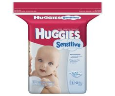 Huggies Sensitive Baby Diaper Wipes - http://www.intomars.com/huggies-sensitive-baby-diaper-wipes-refill.html