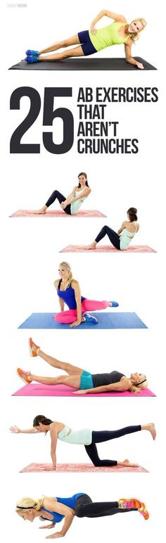 Not a fan of crunches? Neither are we, so try these out instead!