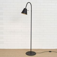 A simply stylish hand forged #floor #lamp to join our range. With its adjustable shade it is ideal for reading.