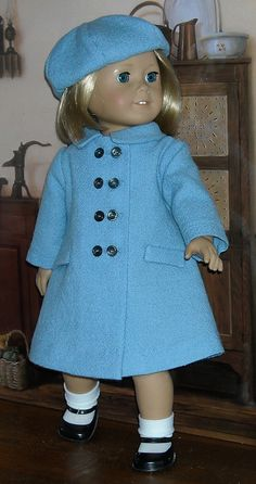 Kit blue coat 4 by Sugarloaf Doll Clothes, via Flickr