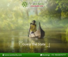 #Varefamily #QuizTime   Love travelling? Help us find the name of the state.  Hint: This place comprise of a serene stretch of lakes, canals and lagoons located parallel to the Arabian Sea Coast.  Enquire Now: Call +91-9810074777 or Visit: www.varefamily.com  #privatevilla, 24*7 #service, #homecook, #dedicatedstaff, and much more