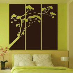 Our Popsicle Tree Panel Wall Decal will give any room that flare that it is missing! | Trendy Wall Designs