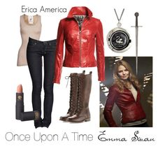 """""""Emma Swan - Once Upon A Time"""" by the-erica-america ❤ liked on Polyvore"""