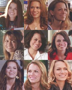 """""""May the years go on and your smile never change."""" /// Haley James Scott s1-s9"""