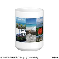 St. Maarten-Sint Martin Photography Collage Classic White Coffee Mug (sold 6! - PA) Many thanks!