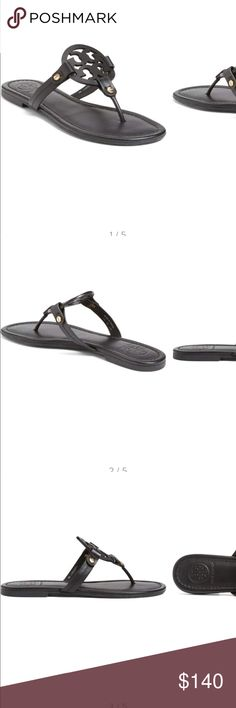 b8c020891a0 Shop Women s Tory Burch Black size Sandals at a discounted price at  Poshmark. Brand new with box size Sold by stephaniecreyes.