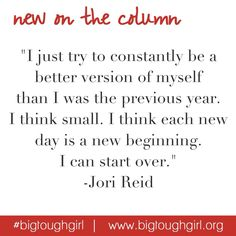 NEW on #TheColumn a great article from @jlynnreid on making DAILY resolutions!  Head on over to the blog to hear her goals for 2015.  #bigtoughgirl #newyear #dailyresolutions #soulwriter #2015 #goals #bebetter #beyourbestself  http://www.bigtoughgirl.org/blog/2015/1/12/goodbye-new-years-resolutions-hello-daily-resolutions