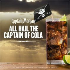 All hail the Captain of cola.