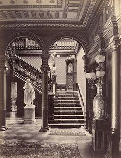 Grand Aesthetic interior!  DO MIlls residence SF CA 1880's by gaswizard, via Flickr