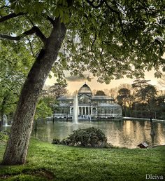 Palacio de Cristal de El Retiro / Crystal Palace in El Retiro (Madrid, Spain)