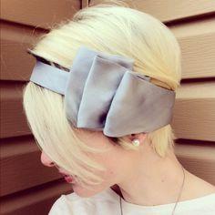 Headband from a Men's  Tie