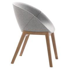 Coquille-L Arm Chair in Grey, by Domitalia. Found it at AllModern