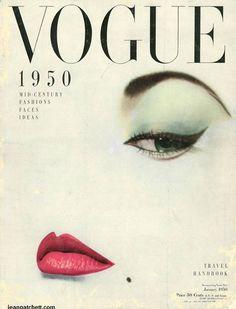 Jean Patchett, Vogue and Irving Penn