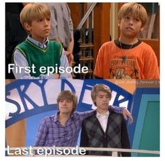 The Suite Life Of Zack and Cody→ The Suite Life On Deck  Dylan & Cole Spouse