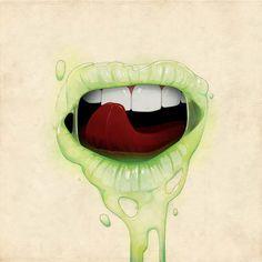 Flesh – 12 créations à tomber de l'artiste Stuntkid | Ufunk.net