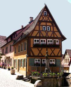 Rothenburg ob der Tauber - Plönlein am Sieberstor -29 | Flickr - Photo Sharing!