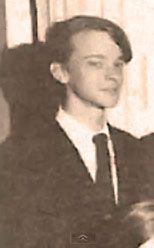 Brad Dourif as a teenager