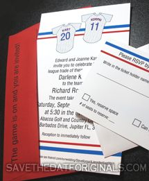 sports themed wedding invitation wording for sports lovers