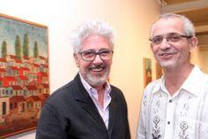 Laymert Garcia dos Santos e Celso Fioravanti
