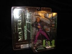 Matrix Morpheus Sword Base McFarlane RARE Purple Suit Lawerence Fishbourne Cool | eBay