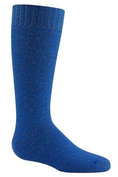Wigwam Snow Tot Infant Ski Socks, blue from littleskiers