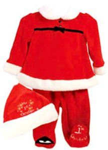 #lulusholiday Why not dress your newborn in this cute Santa outfit for just $40!