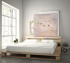 """Farbe - """"Reisefieber 2 rosé"""" Leinwand 1x1 Meter - ein Designerstück von BlickFangFotografie bei DaWanda"""