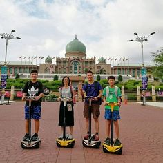 Explore the beautiful landmarks on a segway @ Putrajaya! Come #meetloka at #LokaLocal by joining this safe yet fun eco tour.  . . . . . #igputrajaya #putrajaya #malaysia #igmalaysia #instago #segwaytour #segway #malaysiatrulyasia
