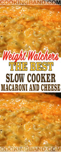 The Best Slow Cooker Macaroni and Cheese Recipe – Cooking Band Das beste Slow Cooker Makkaroni und Käse Rezept – Cooking Band Best Slow Cooker, Slow Cooker Recipes, Crockpot Recipes, Ww Recipes, Cheese Recipes, Recipies, Health Recipes, Slow Cooker Macaroni And Cheese Recipe, Cooking Macaroni