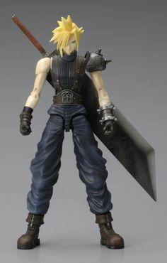 Manga Heaven - Final Fantasy VII Play Arts Vol 1: Cloud Strife Play Arts Action Figure