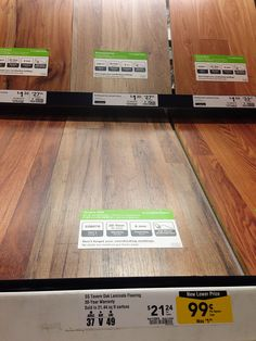 Lowes Tavern Oak Laminate Flooring 1 29 Sq Ft