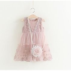 Hurave 2017 Summer Cute Kids Dress Children Clothes For Toddler Infant Lace With Package Summer Brand Infant Clothing Girls Dresses Online, Party Dresses Online, Dresses For Sale, Cheap Party Dresses, Cute Dresses, Little Girl Dresses, Flower Girl Dresses, Cheap Girls Clothes, Cotton Long Dress