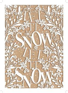 Michael Cheung - MHC_xmas_let_it_snow_lasercut