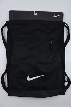 Nike Alpha ADAPT Gymsack Black/white Drawstring Bag Backpack Gym Sack for sale online Nike Sports Bag, Nike Gym Bag, Nike Bags, Nike Soccer Bag, Gym Backpack, Small Backpack, North Face Backpack, Drawstring Backpack, Louis Vuitton Speedy 25